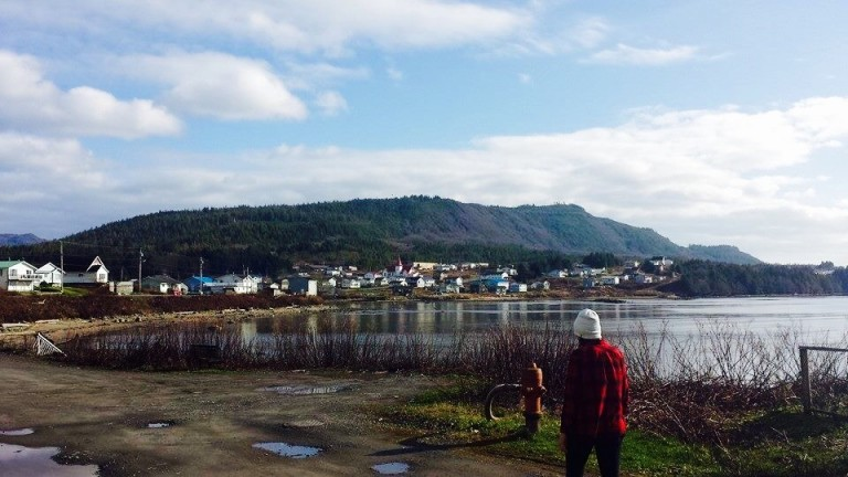 Photo of the Community of Lax Kw'alaams, BC