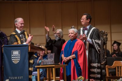 Patsy George receives honorary degree